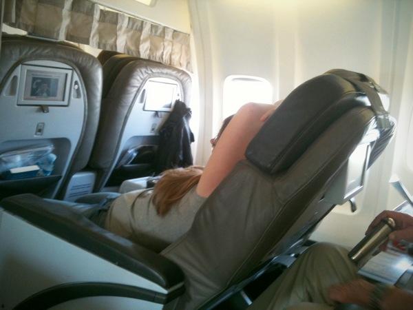 Rude passenger