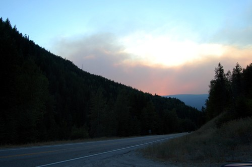 Pend D'Oreille Forest Fire