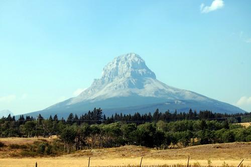 Frank area Mountain